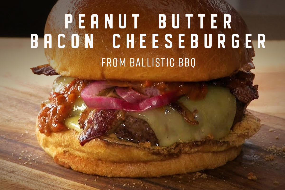 Peanut Butter Bacon Cheeseburger Yoder Smokers